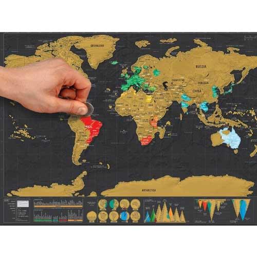 Stieracie-mapa -sveta
